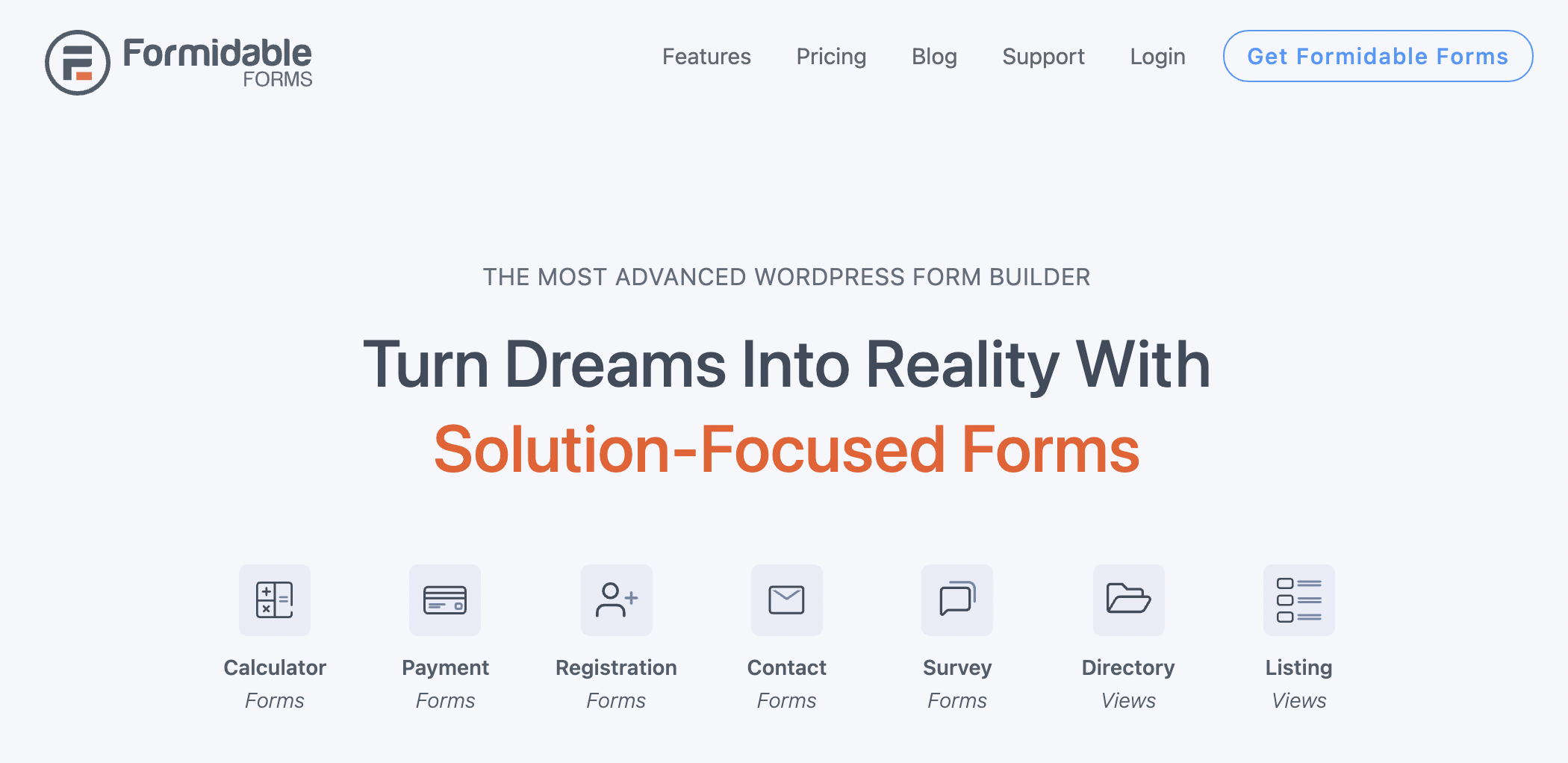 Formidable Forms - WordPress Poll Plugin