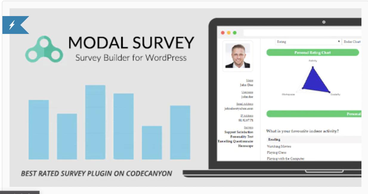 Modal Survey Plugin