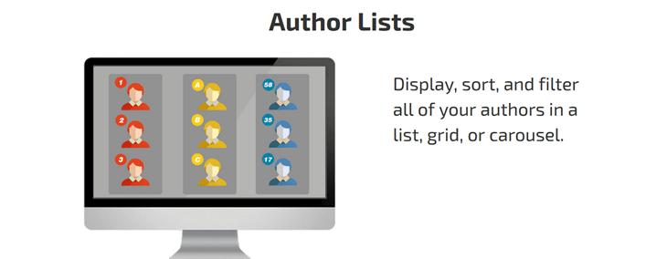 author lists plugin
