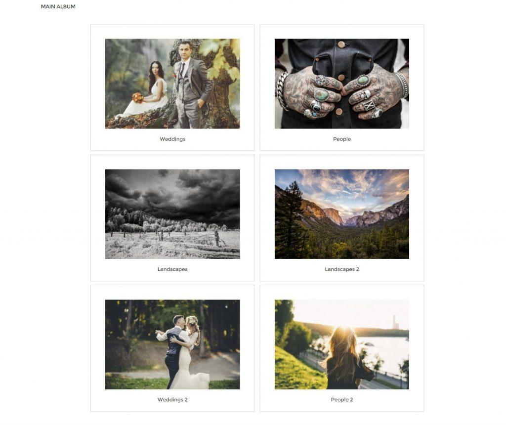 NextGEN Gallery albums