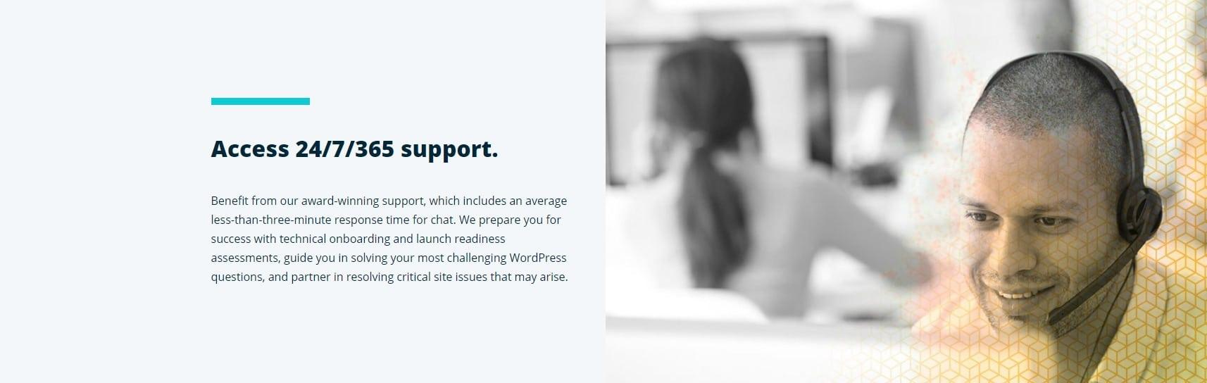 support WooCommerce WP engine