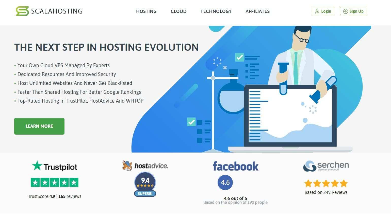Scala managed vps hosting