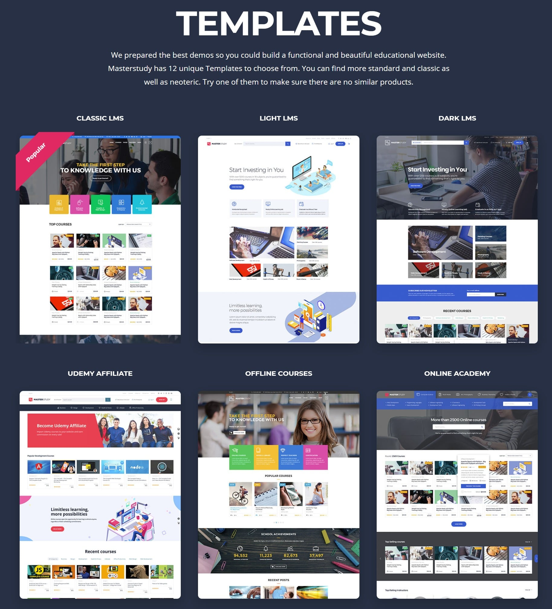 LMS WordPress Education Theme - MasterStudy