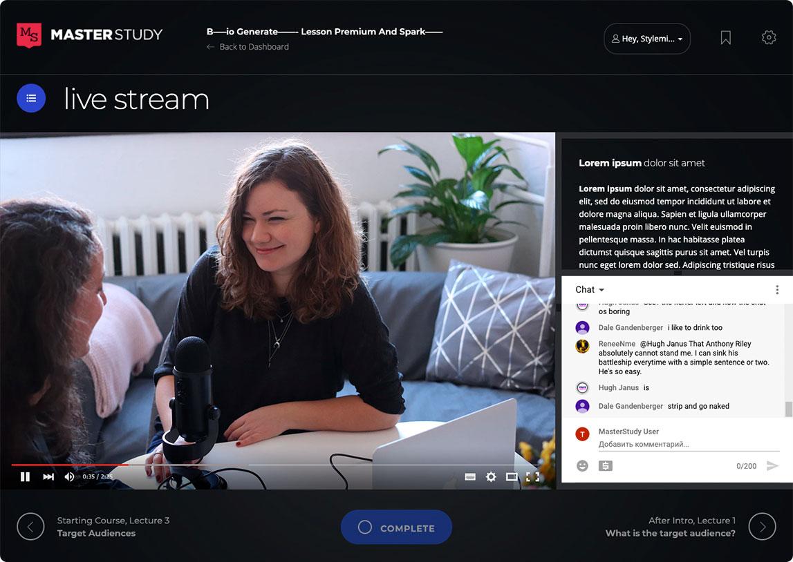 livestream SaleSource