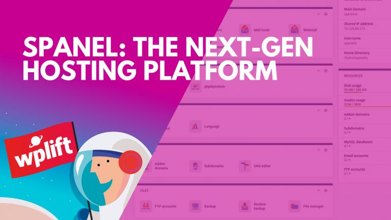 SPanel: The Next-Gen Hosting Platform