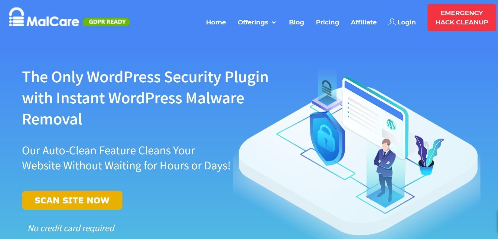 Malcare WP Security plugin