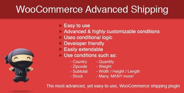 WooCommerce Advanced Shipping image