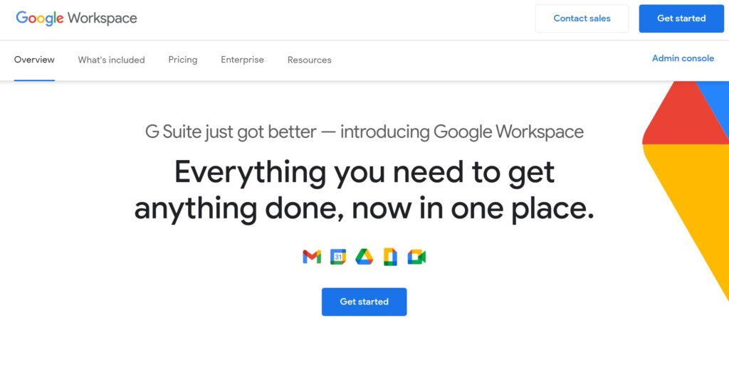 Google Workspace email hosting