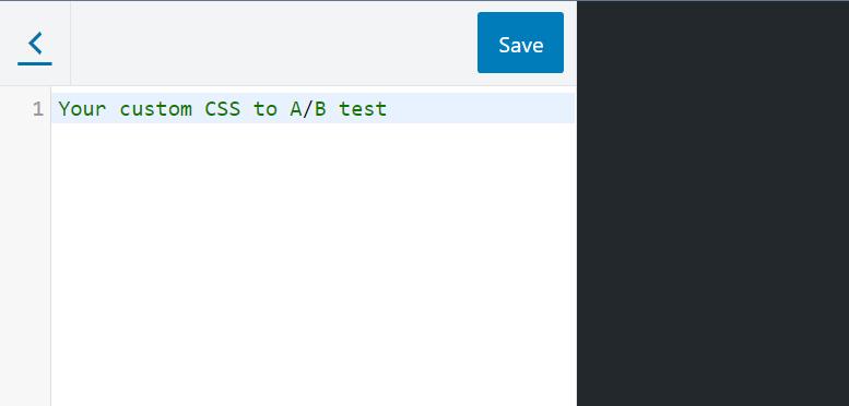 CSS AB Test