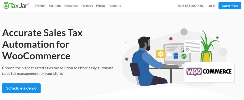 TaxJar WooCommerce tax plugins