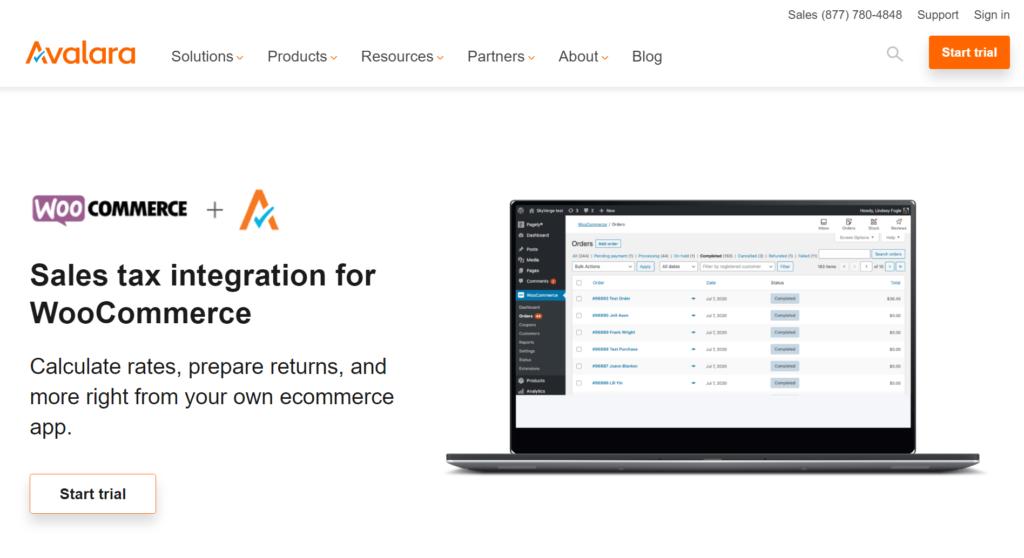 AvaTax for WooCommerce