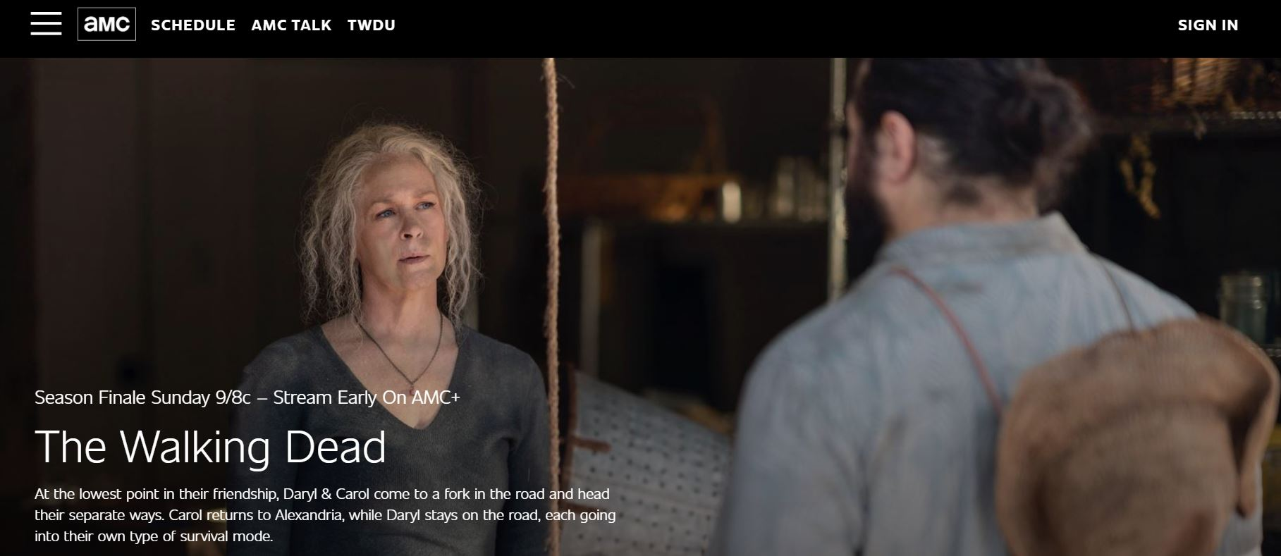 AMC website