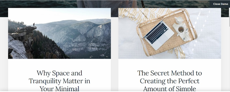 Essence pro WordPress Material Design theme
