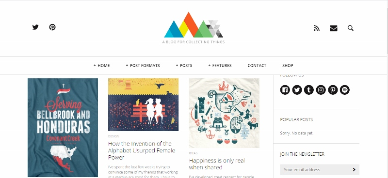 Heap WordPress theme