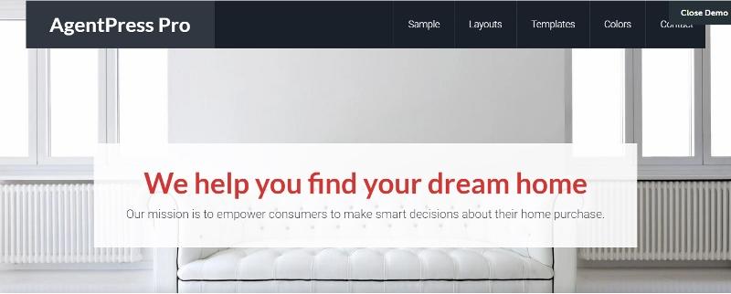 AgenPress Pro - best WordPress theme for real estate websites