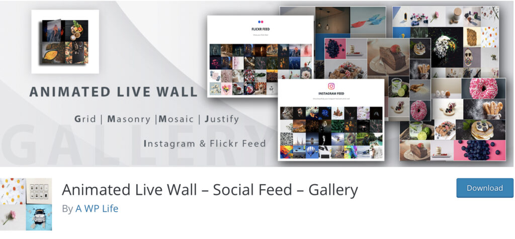 Animated live wall