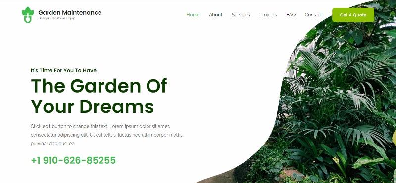 Astra clean website demo