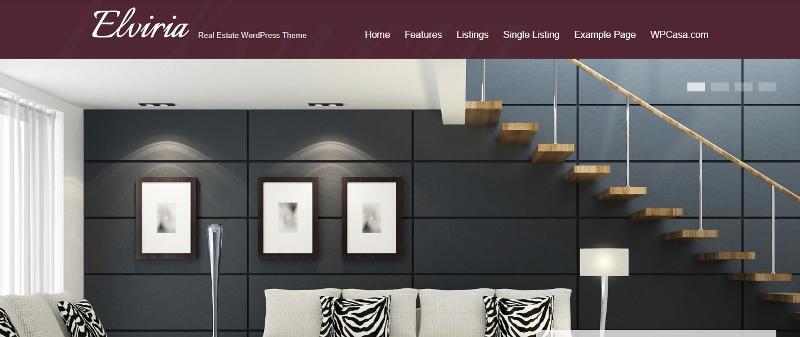 Elviria property dealer wordpress theme
