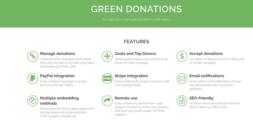 Green Donations