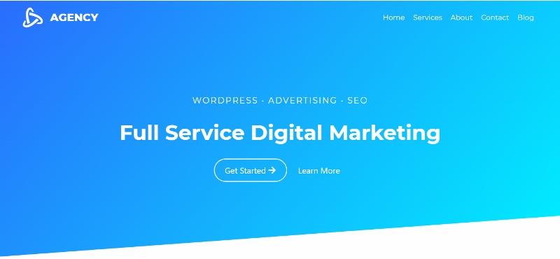Kadence - clean website design