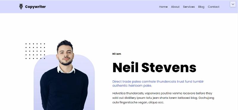 Neve clean multipurpose WordPress theme