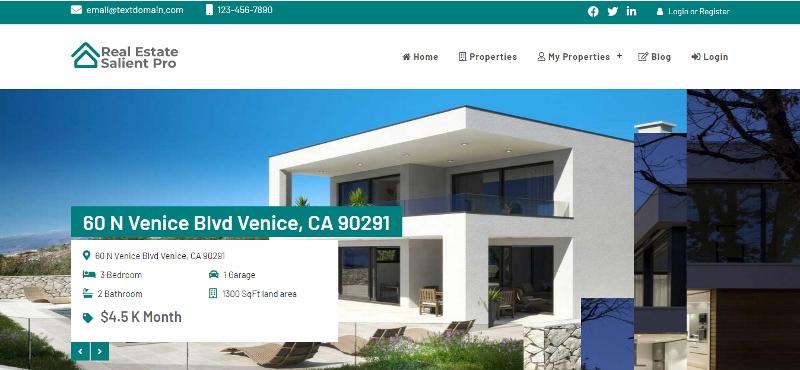 real estate salient pro theme