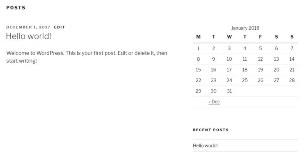 how to add widgets to WordPress posts