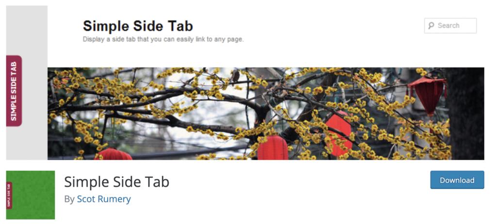 Simple Side Tabs