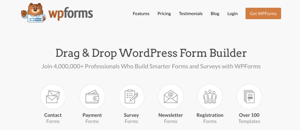 WPForms WordPress Donation Plugin