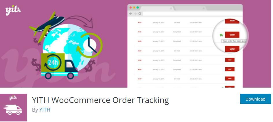 YITH Woocommerce Order Tracking