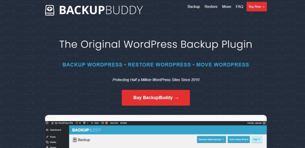 BackupBuddy Premium WordPress Plugin