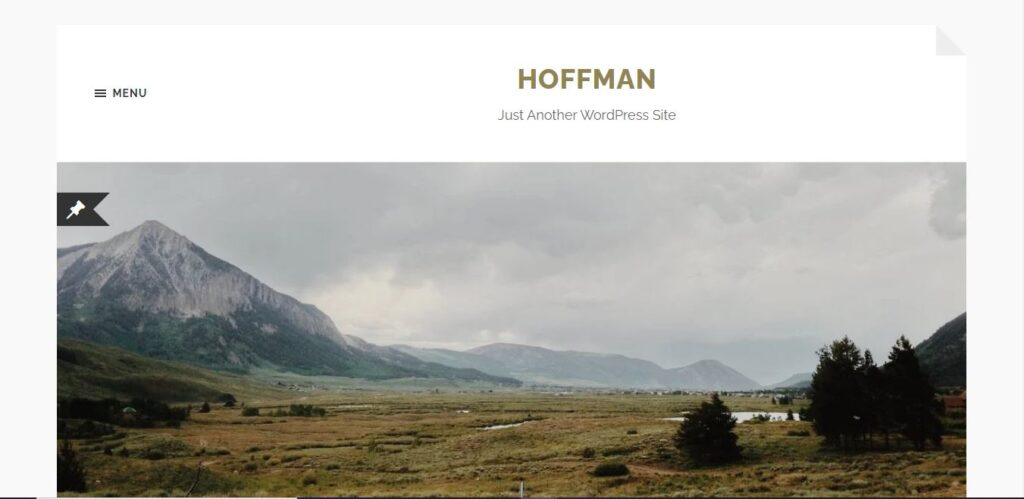 Hoffman Gutenberg Theme