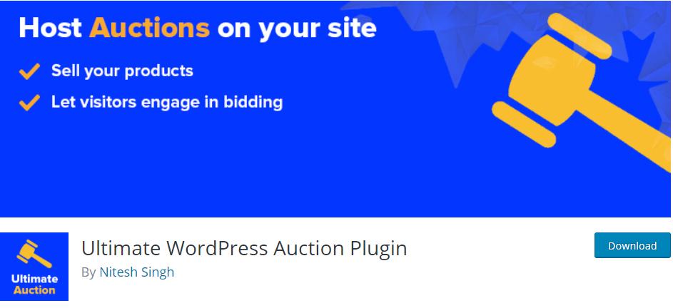 ultimate wordpress aution plugins