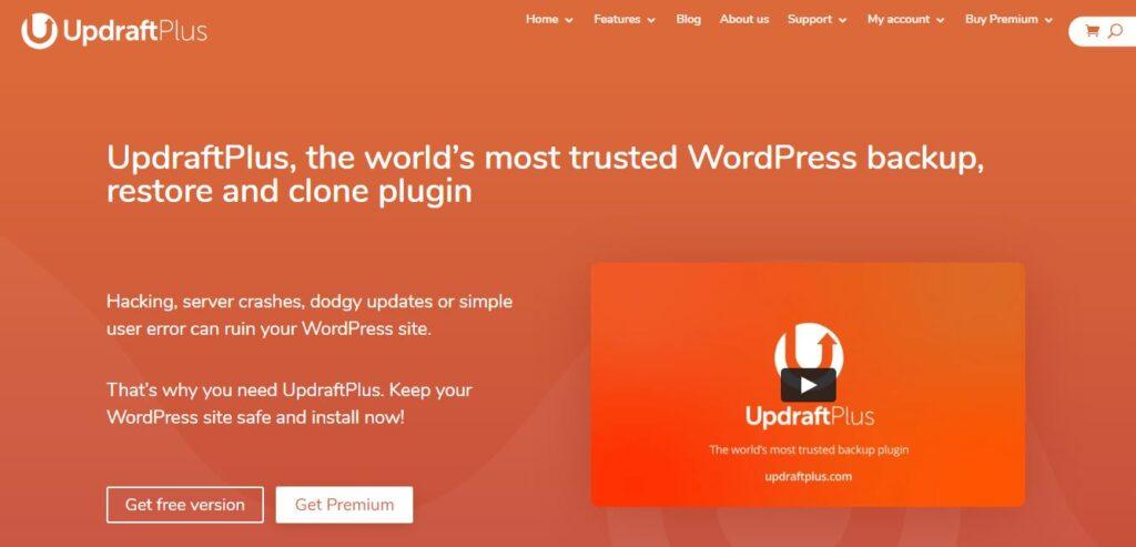 UpdraftPlus Backup and Restoration Free WordPress Plugin