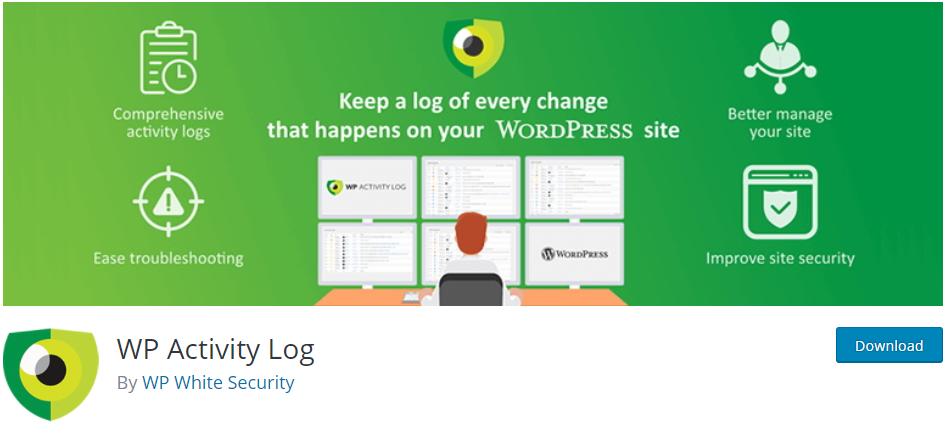 WP Activity Log multisite plugin
