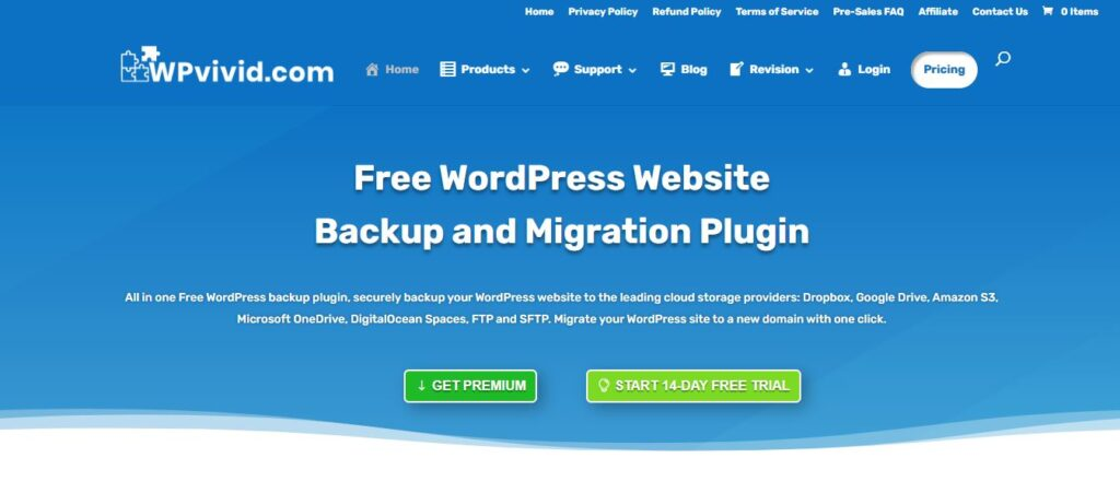 WPvivid Pro Backup & Migrate