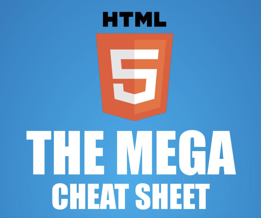 HTML 5 The Mega WordPress Cheat Sheet by Make a Website Hub (PDF)