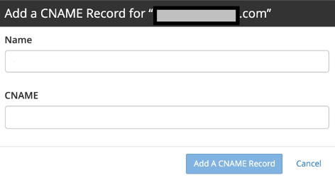 wordpress not sending email - Add a CNAME