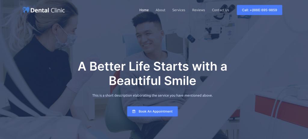 Astra dentist WordPress themes