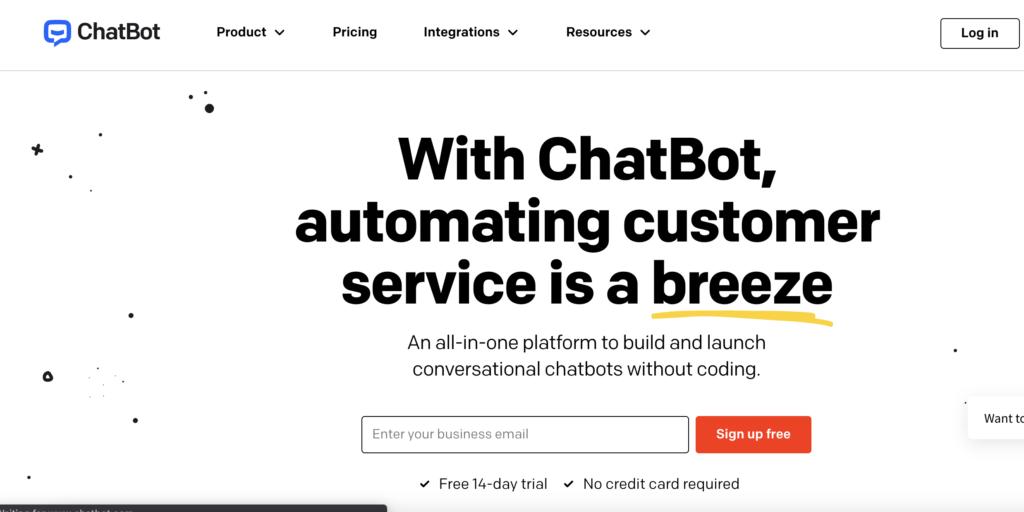 Chatbot WordPress live chat plugin