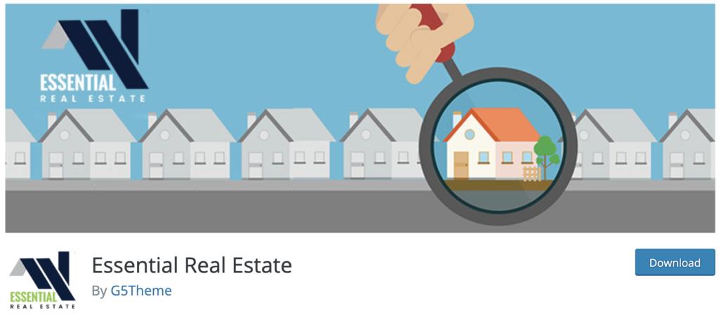 Essential Real Estate - WordPress real estate plugin