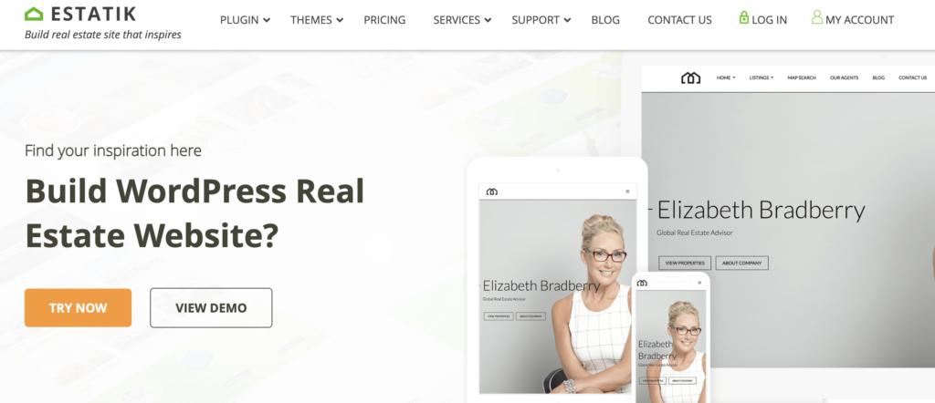 Estatik WordPress Real Estate Plugins