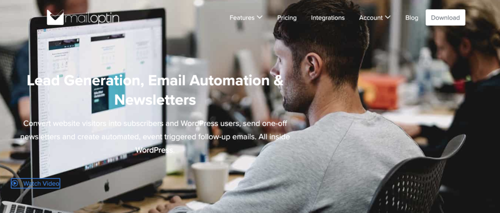 MailOptin - best Mailchimp plugin for WordPress