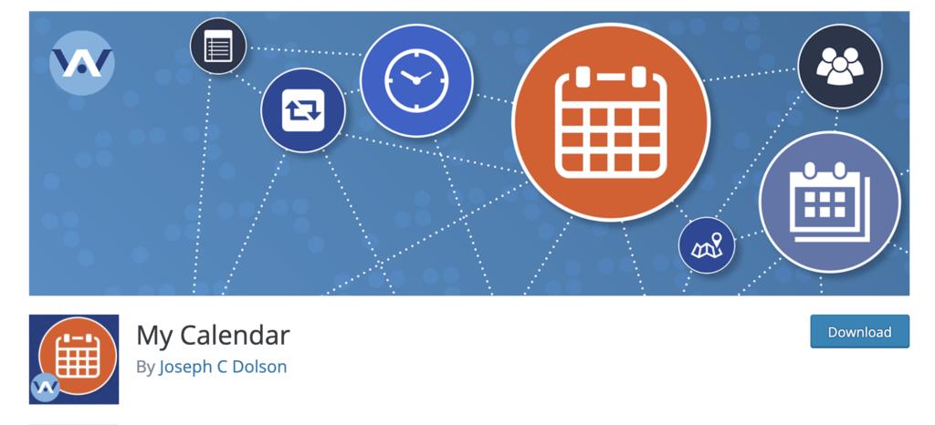 My Calendar WordPress Event Calendar Plugin