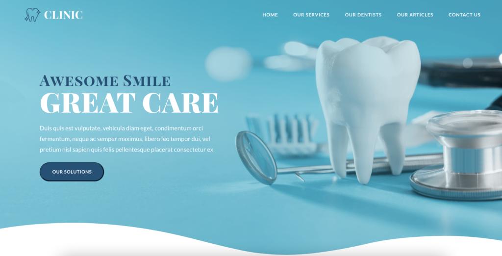 OceanWP dentist WordPress themes
