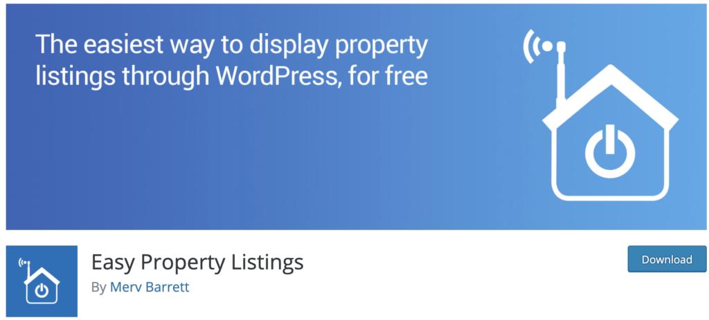 Easy Property Listings - WordPress real estate plugin