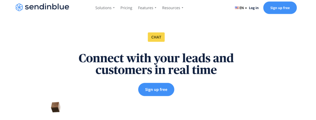 Sendinblue WordPress live chat plugins