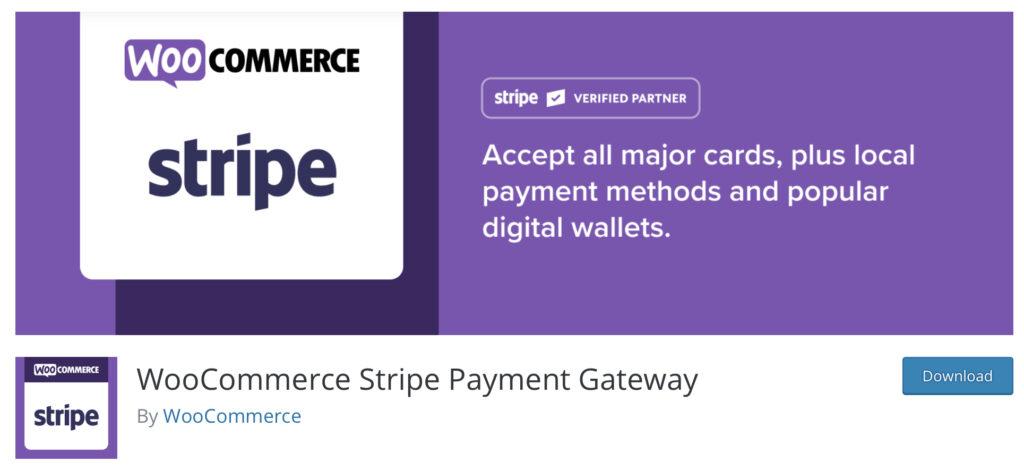 WooCommerce Stripe Tutorial - Download plugin
