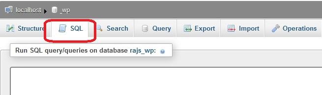 How to Reset WordPress Password via SQL