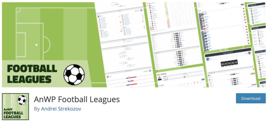 AnWP Football Leagues WordPress sport plugin